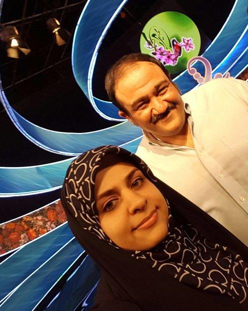 مهران غفوریان در کنار خواهرش /عکس