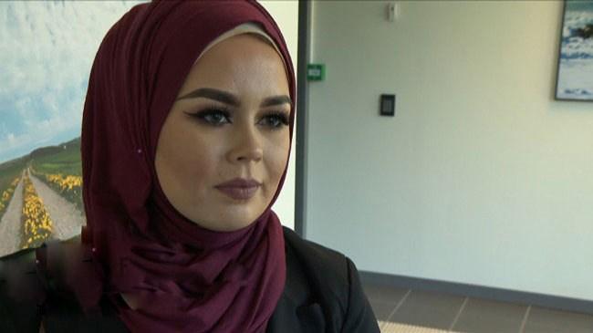 جنجال نپذیرفتن زن مسلمان محجبه در آرایشگاه /تصاویر