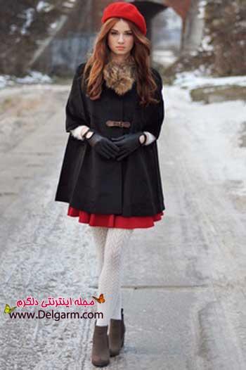 جدیدترین مدلهای زیبایی از پالتو زنانه طرح ۲۰۱۴