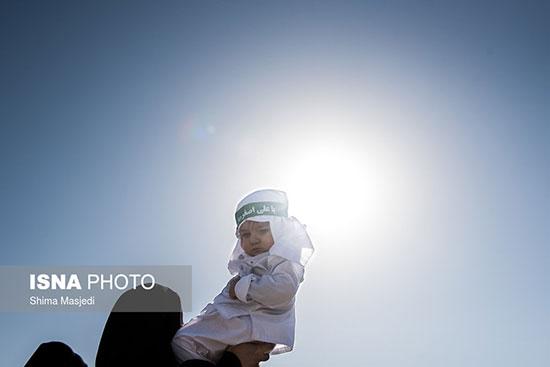 مراسم شیرخوارگان حسینی در مصلی /تصاویر