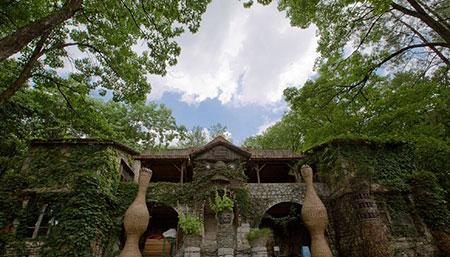 قلعه ای از سنگ در گوئیژو چین