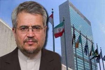 اعتراض ایران به سازمان ملل در خصوص تمدید تحریم های ایران