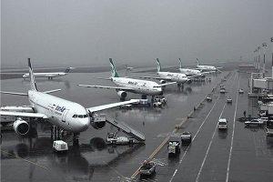 لغو مجدد پروازهای فرودگاه مشهد به دلیل شرایط آب و هوا