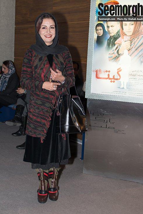 مریلا زارعی در اکران فیلم گیتا در پردیس ملت