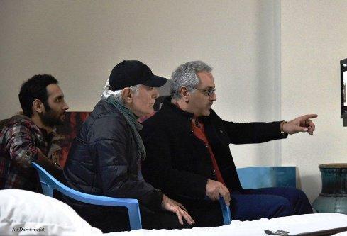 عکسی از حضور پسر مهران مدیری در فیلم ساعت ۵ عصر مدیری