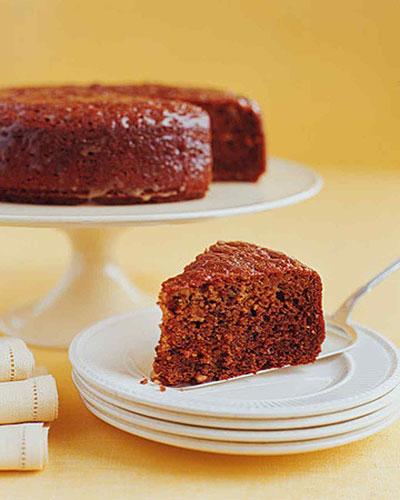 طرز تهیه کیک عسل و گردو
