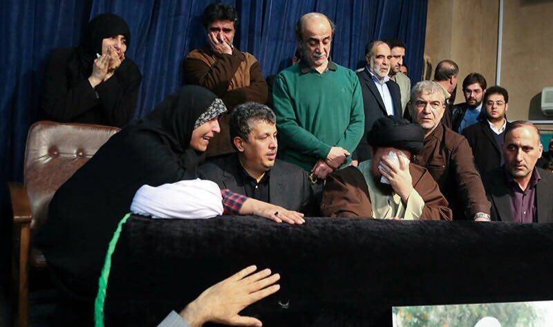 وداع سید حسن با هاشمی رفسنجانی
