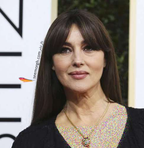 چهره مونیکا بلوچی در گلدن گلوب 2017