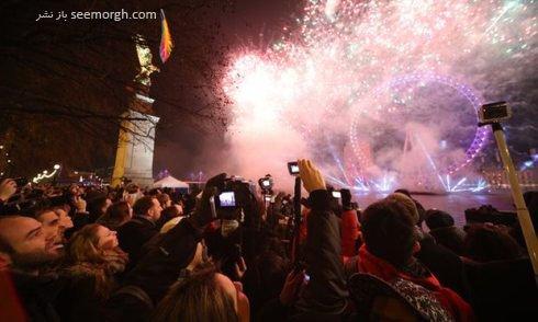 آتش بازی های با شکوه آغاز سال ۲۰۱۷ در شهر های معروف دنیا