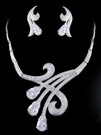 مدل سرویس طلا و جواهر,مدل سرویس جواهرات عروس,عکس سرویس جواهر عروس