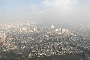 تداوم آلودگی هوا؛ آلودهترین مناطق تهران