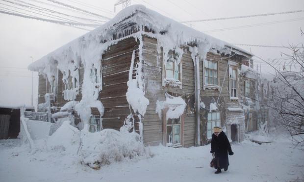 با دیدن این تصاویر بسیار سرد ممکنه شما هم یخ بزنید!