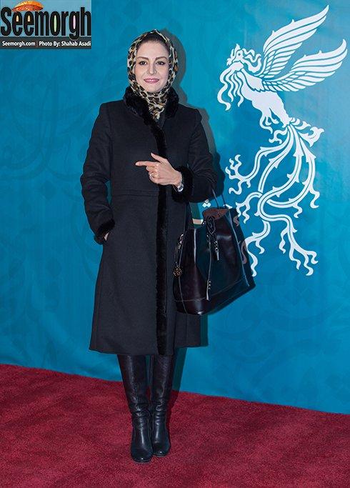 مدل مانتو مریلا زارعی در پنجمین روز جشنواره فجر 35