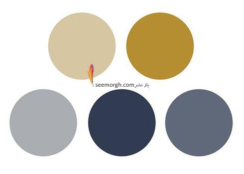ترکیب رنگ های مناسب کرم و نسکافه ای