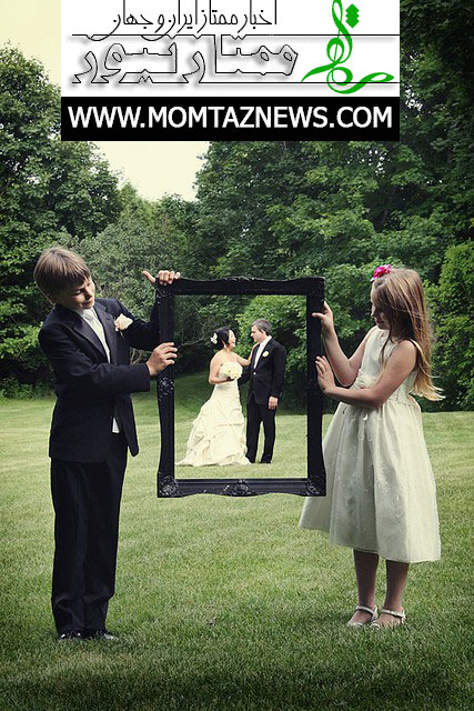 نمونه ژست عروس و داماد برای عکاسی همراه مدل های جدید ۲۰۱۸