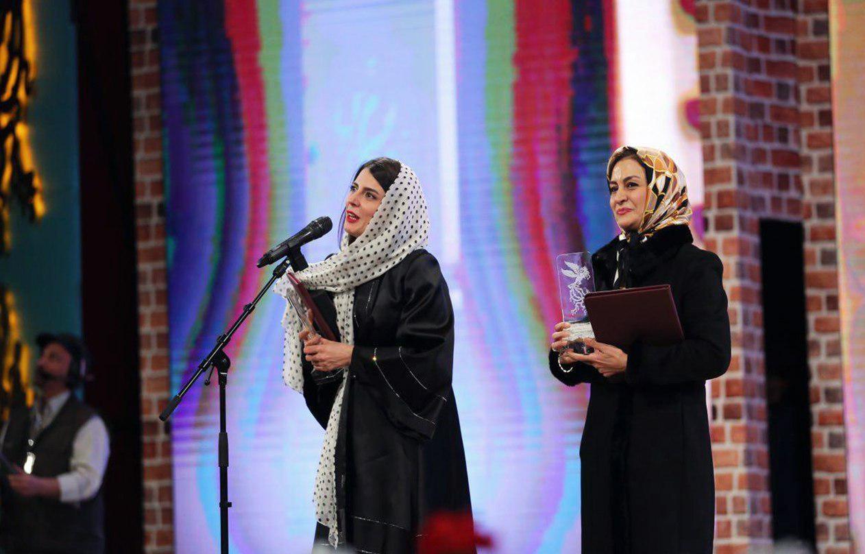 لیلا حاتمی و مریلا زارعی بهترین بازیگر نقش اول زن جشنواره فجر 95