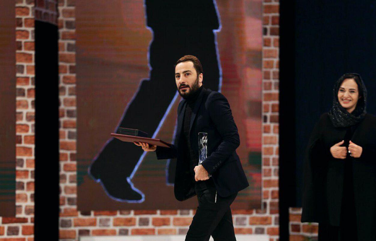 نوید محمد زاده بهترین بازیگر نقش مکمل مرد جشنواره فجر 95