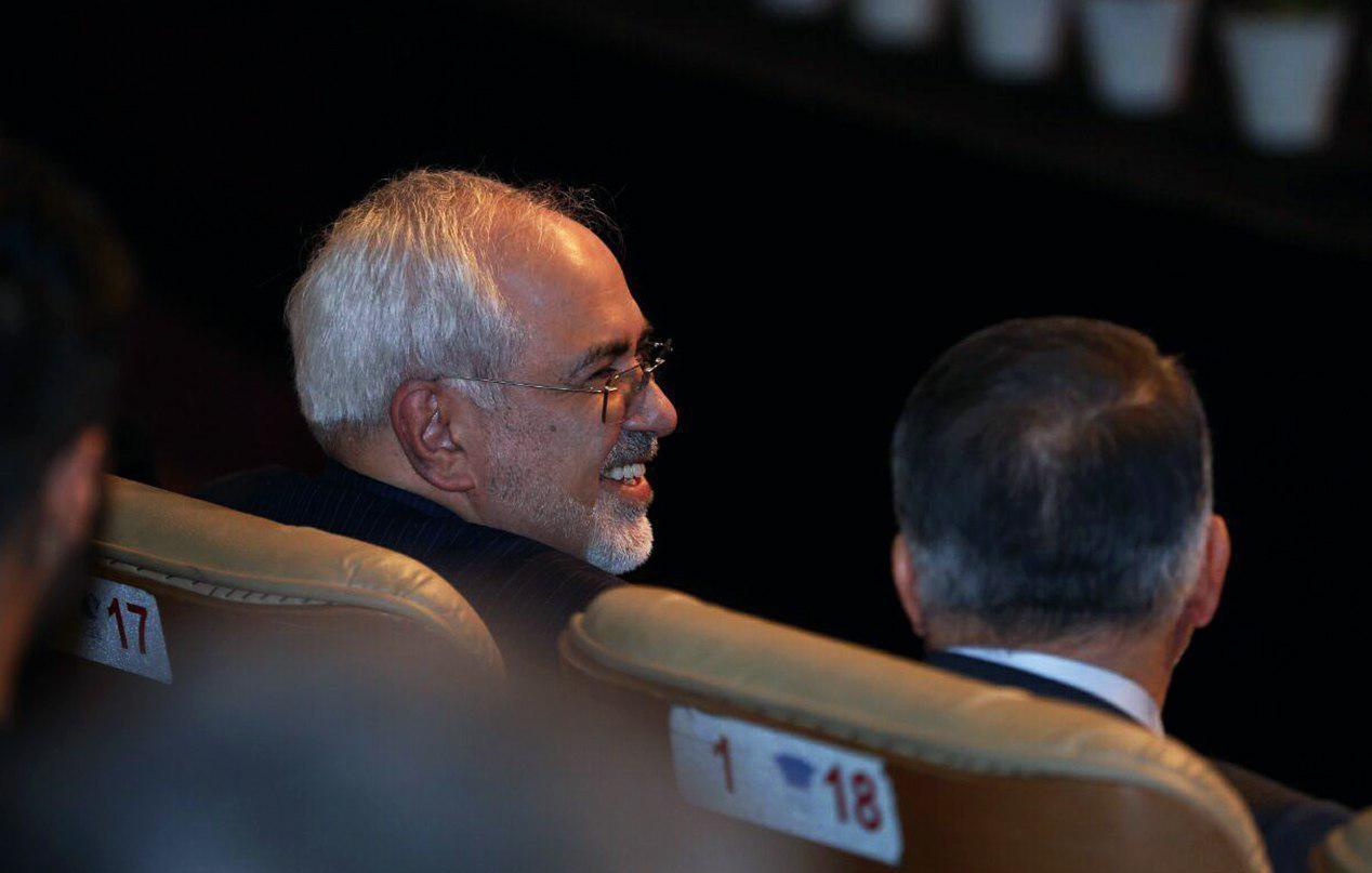 جواد ظریف در اختتامیه جشنواره فجر 95