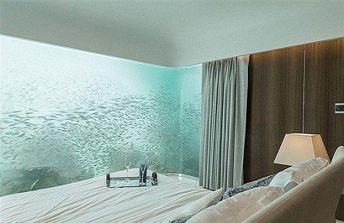 ویلای لوکس مسی در زیر آب /عکس