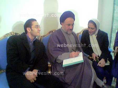 عکس خانوادگی سحر دولتشاهی ،رامبدجوان و پسرشان