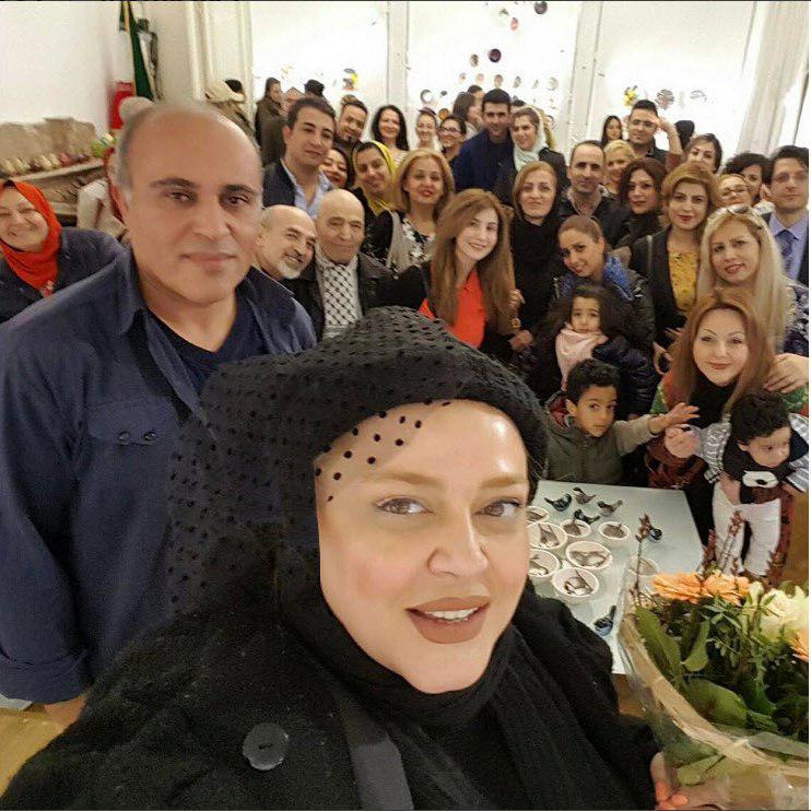 عکس حجاب بازیگران زن ایرانی در خارج از کشور