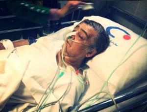 آخرین وضعیت رضا رویگری در بیمارستان/ عکس