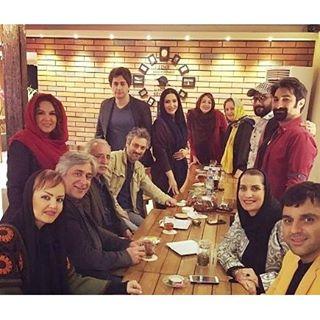 جشن تولد شهره سلطانی بازیگر ۴۷ ساله با جمعی از بازیگران