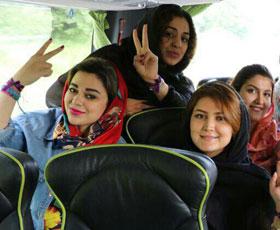 عکس های از صف ایرانیان خارج از کشور برای رای دادن