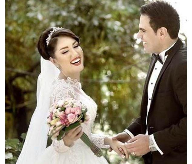 مدل های عکس عروس و داماد در باغ