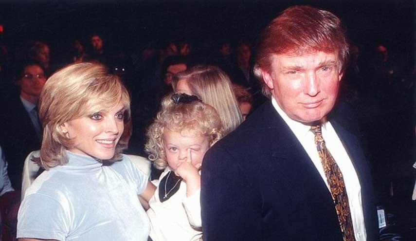 زن دوم ترامپ و دخترش