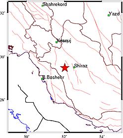 زلزله امروز شیراز و استان فارس + جزئیات و خسارات