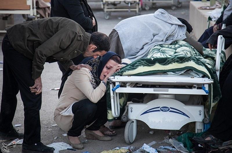 تصاویر +۱۸ از زلزله کرمانشاه و شمال غرب