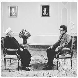 نکات جالب از مصاحبه رضا رشیدپور با حسن روحانی با سؤالهای پر حاشیه
