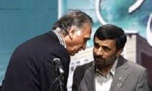 احمد نجفی و احمدی نژاد