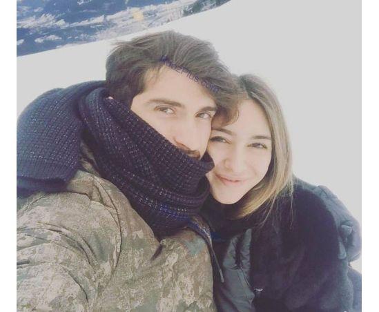 عکس کریم انصاری فرد و همسرش