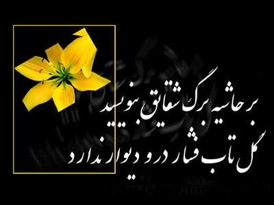 عکس نوشته یا فاطمه زهرا