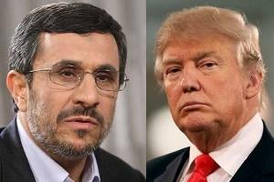 احمدی نژاد به ترامپ نامه نوشت+متن نامه