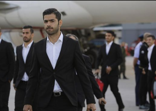 عکس های بازگشت تیم ملی فوتبال به ایران و استقبال مردم
