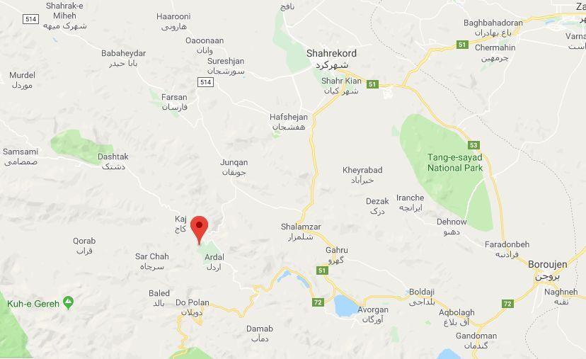 جزئیات زلزله امروز شهرکرد در استان چهارمحال و بختیاری