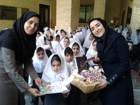 جشن آغازین آموزش قرآن کلاس اول ابتدایی در سال ۹۷