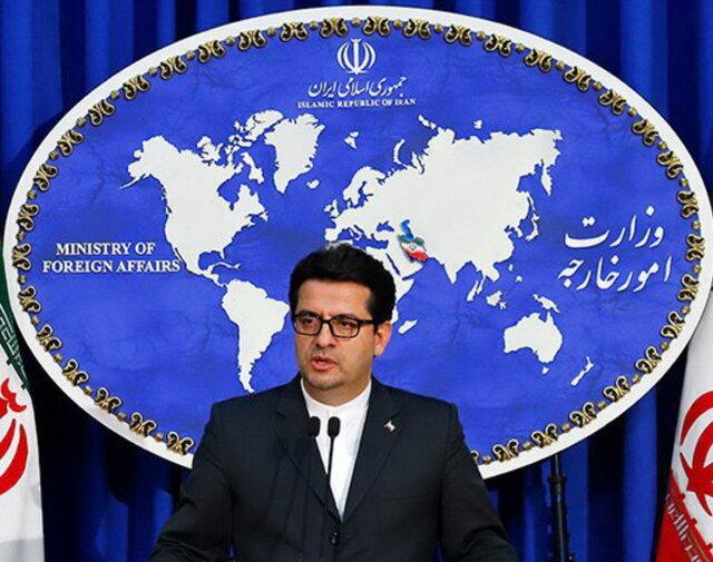 سید عباس موسوی . سخنگوی وزارت امور خارجه