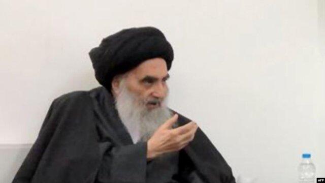 آیتالله سیستانی از ادامه تظاهرات حمایت کرد