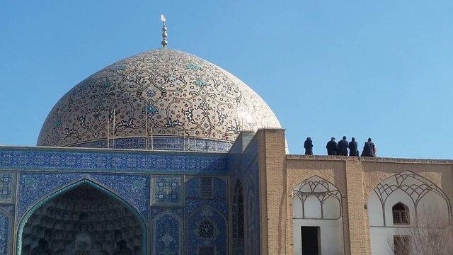 تازهترین اظهارات مدیرکل میراث فرهنگی اصفهان درباره مرمت گنبد شیخ لطفالله