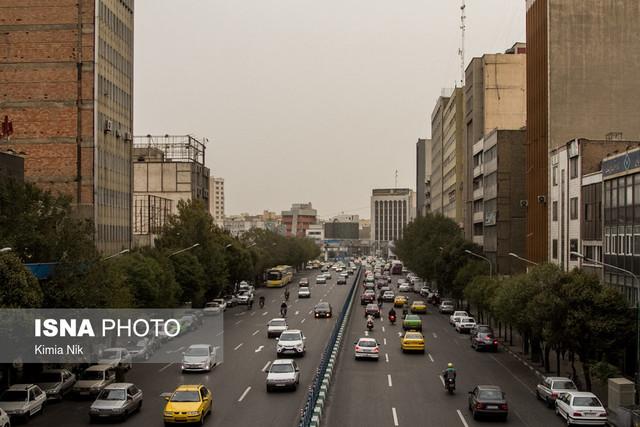 روند تغییرات کیفیت هوای تهران در دی ماه ۸ سال اخیر