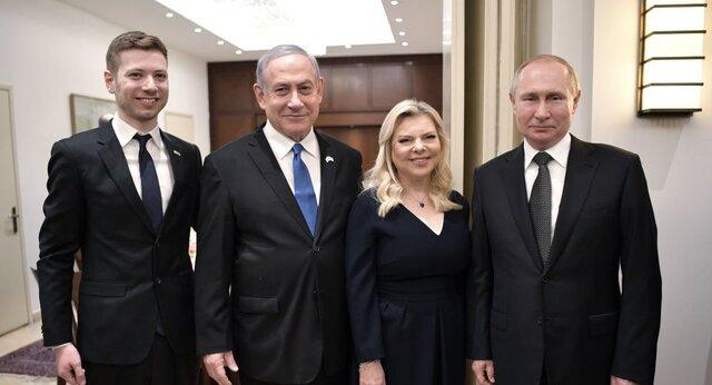 عکس دستهجمعی پوتین با خانواده نتانیاهو/ پوتین هولوکاست را فاجعه مشترک روسیه و اسرائیل خواند