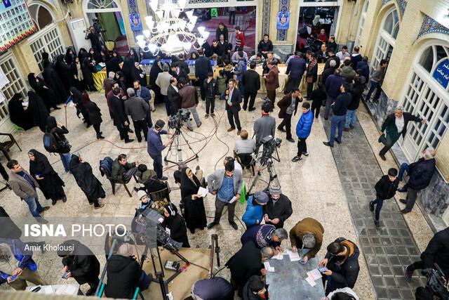 بسته شدن در شعب و آغاز شمارش آرای تهران
