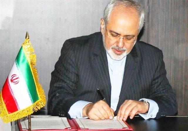 نامه ظریف به دبیرکل سازمان ملل در مورد ضرورت لغو تحریمها