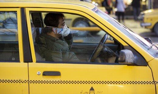ارائه مشخصات ۸۰ هزار راننده تاکسی برای دریافت تسهیلات با شیوع کرونا