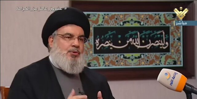 سیدحسن نصرالله: روحیه مقاومت همواره پابرجاست/ صهیونیستها حرف، زیاد میزنند!
