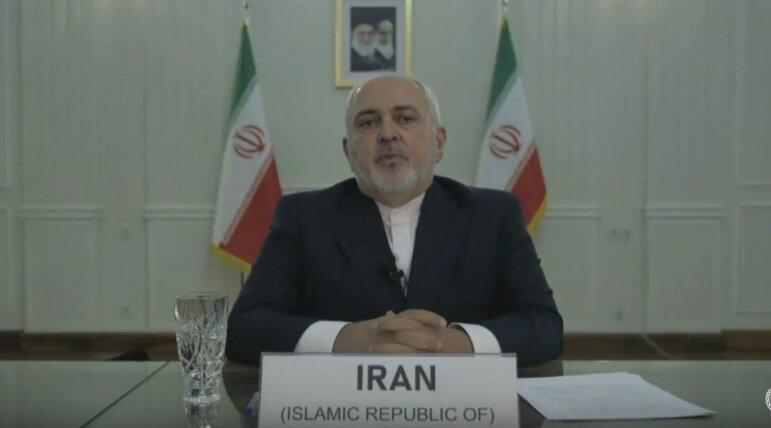 ظریف: گزینههای ایران در برابر تمدید تحریمهای تسلیحاتی قاطع خواهد بود